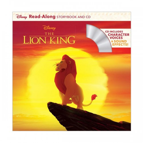 Disney Read-Along Storybook : The Lion King (Book & CD)