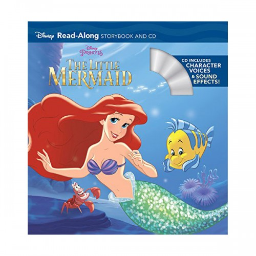 Disney Read-Along Storybook : The Little Mermaid (Book & CD)