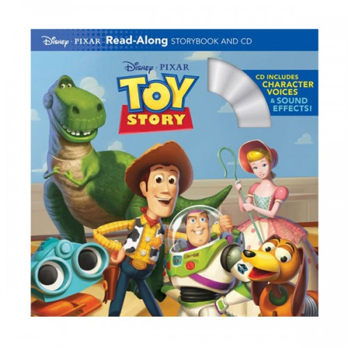Disney Read-Along Storybook : Toy Story (Book & CD)