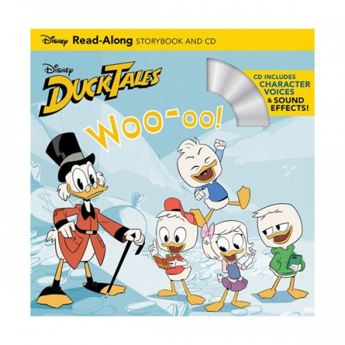 DuckTales : Woo-oo! Read-Along Storybook and CD (Paperback)
