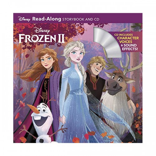 Disney Read-Along Storybook : Frozen2 : 겨울왕국2 (Book & CD)