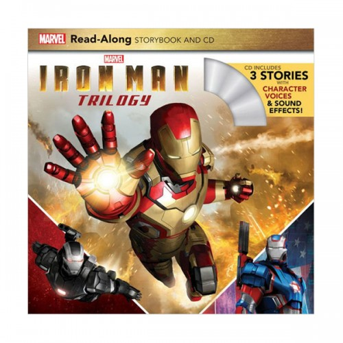 Iron Man Trilogy Read-Along Storybook and CD (Paperback)