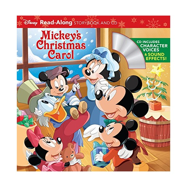 Mickey's Christmas Carol Read-Along Storybook and CD (Book & CD)