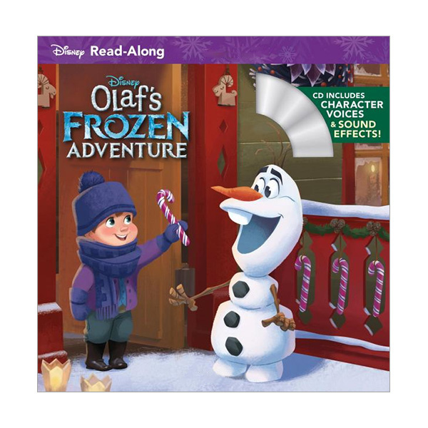 Disney Read-Along Storybook : Olaf's Frozen Adventure : 올라프의 겨울왕국 어드벤처 (Paperback+CD)
