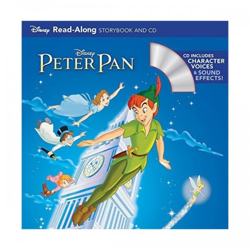 Peter Pan Read-Along Storybook (Book & CD)