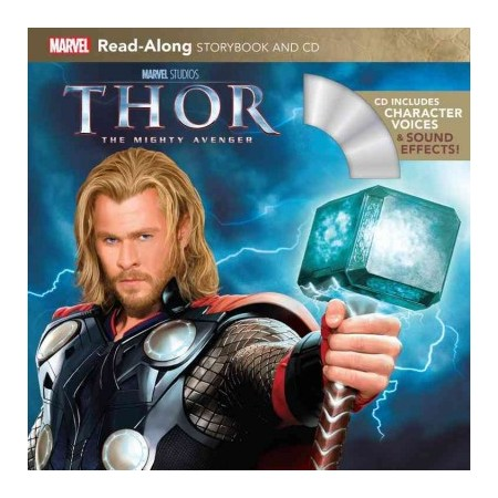 Read-Along Storybook : Thor (Book&CD)