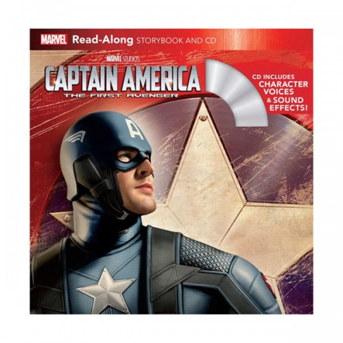 Read-Along Storybook and CD : Captain America : The First Avenger (Book & CD)