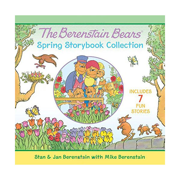 RL 1.5~3.3 : The Berenstain Bears Spring Storybook Collection : 7 Fun Stories (Hardcover)