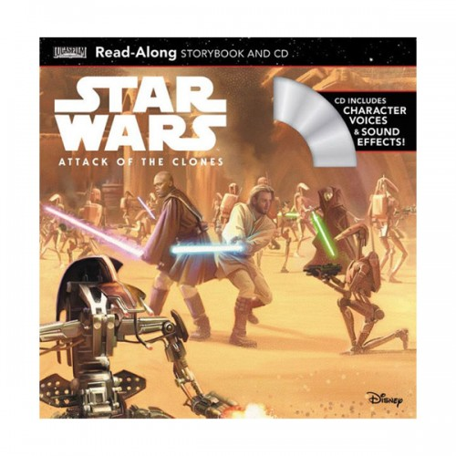 Star Wars: Attack of the Clones Read-Along Storybook and CD (Book & CD)