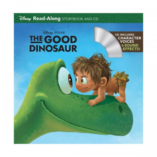 The Good Dinosaur Read-Along Storybook (Book & CD)