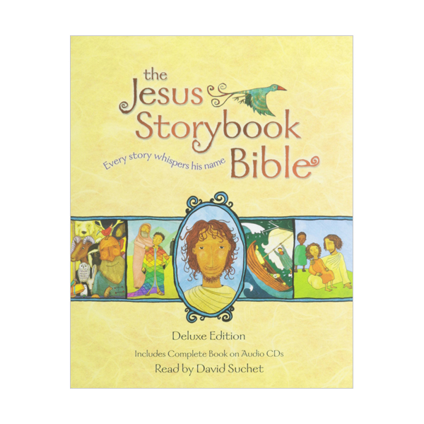 The Jesus Storybook Bible Deluxe Edition : With CDs (Book & CD)