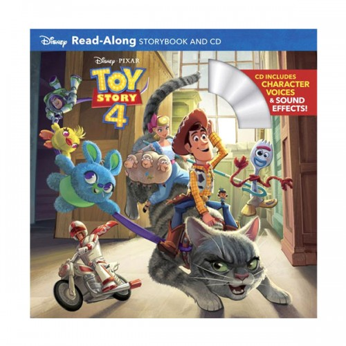 Disney Read-Along Storybook : Toy Story 4 : 토이스토리4 (Book & CD)