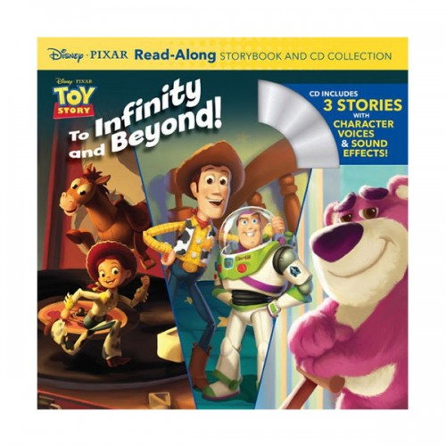 Disney Read-Along Storybook : Toy Story Collection : 토이스토리 (Book & CD)