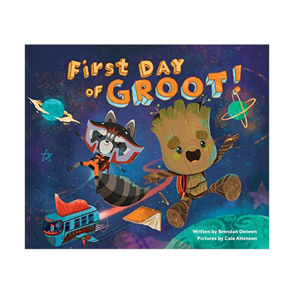 First Day of Groot! (Hardcover)