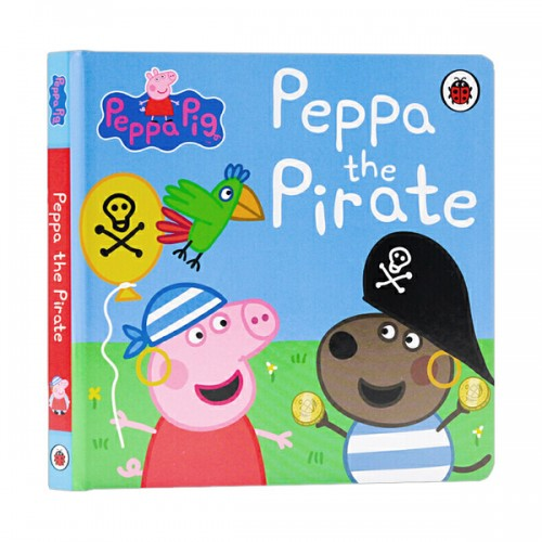 ★키즈코믹콘★Peppa Pig : Peppa the Pirate (Board book, 영국판)