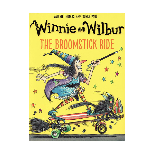 RL 2.4 : Winnie and Wilbur : The Broomstick Ride (Paperback, 영국판)