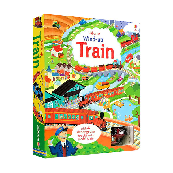 Wind-up Train : 4 Tracks (Board Book, 영국판)