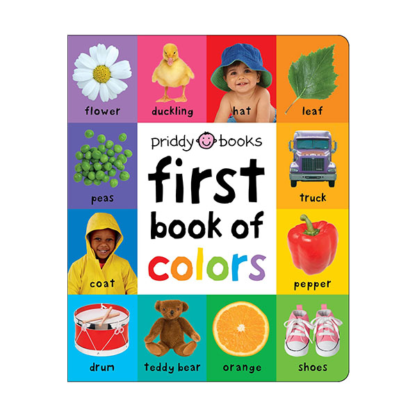 First 100 Soft to Touch: First Book of Colors Padded (Board book)