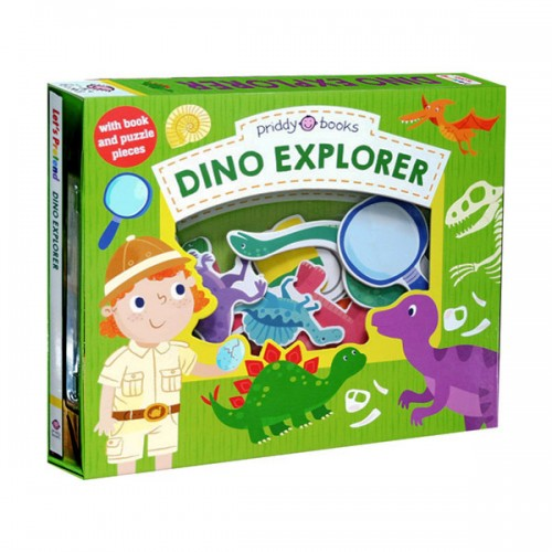 Let's Pretend : Dino Explorer (Board book)