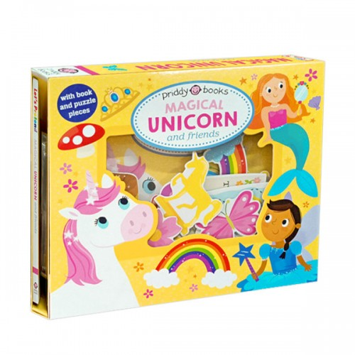 Let's Pretend : Magical Unicorn & Friends (Board book)