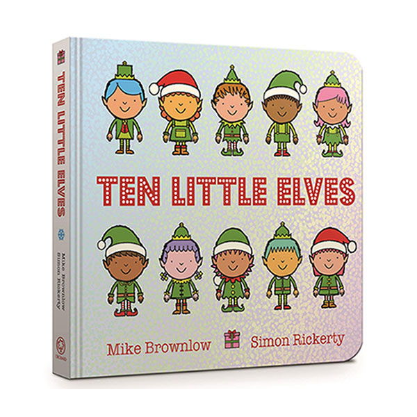 Ten Little Elves (Board Book, 영국판)