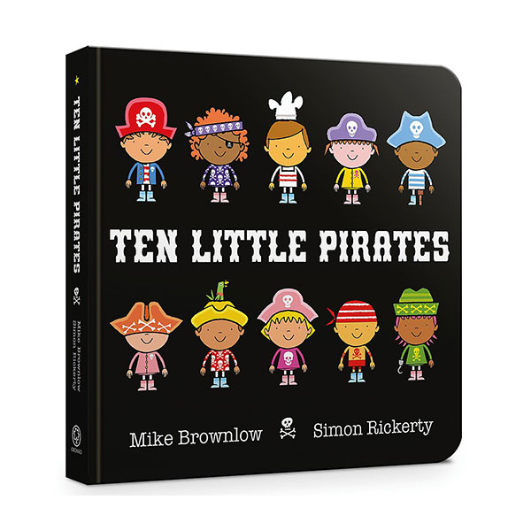 Ten Little Pirates (Board Book, 영국판)