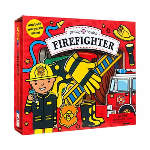 Let's Pretend : Firefighter Set (Board book)