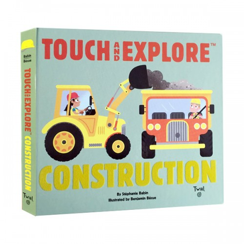 Touch and Explore : Construction (Board book)