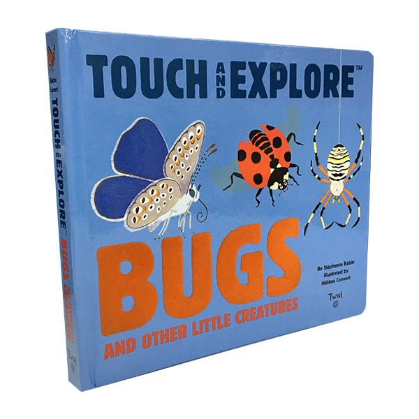 Touch and Explore : Bugs (Board book)