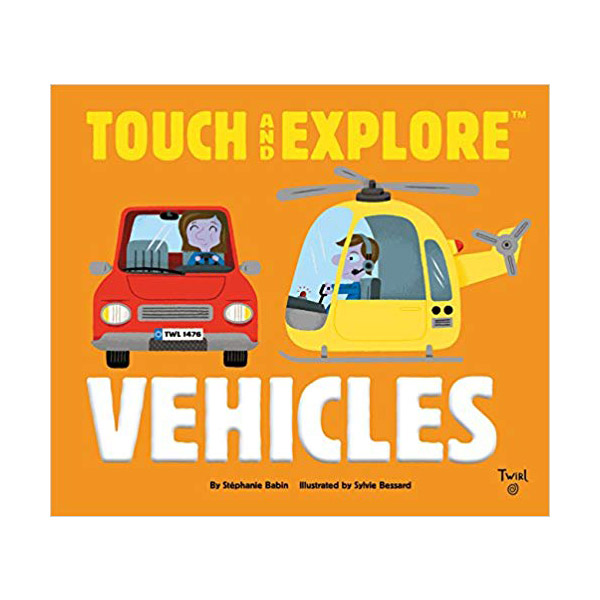 Touch and Explore : Vehicles (Board book)