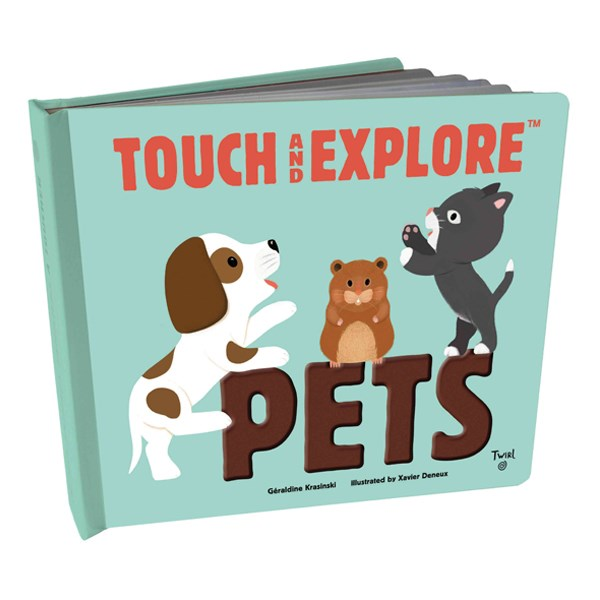 Touch and Explore : Pets (Board book)