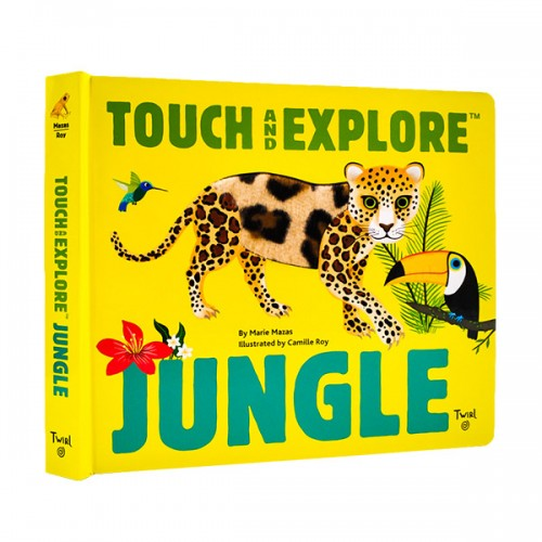 Touch and Explore : Jungle (Board book)