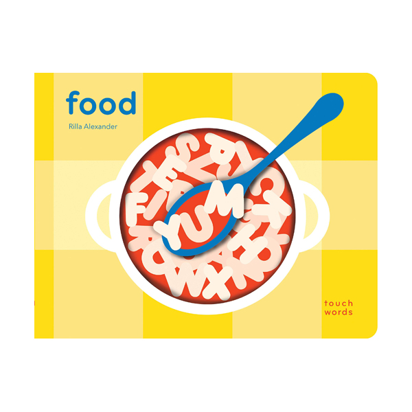 TouchWords : Food (Board book)