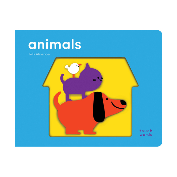 TouchWords : Animals (Board book)