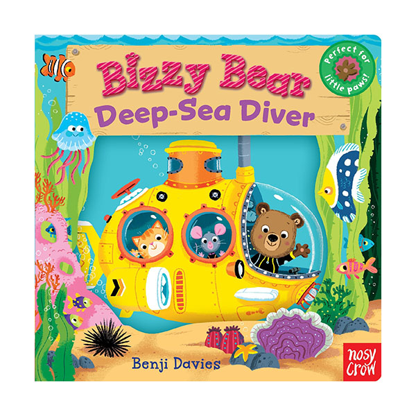 Bizzy Bear : Deep-Sea Diver (Board book)