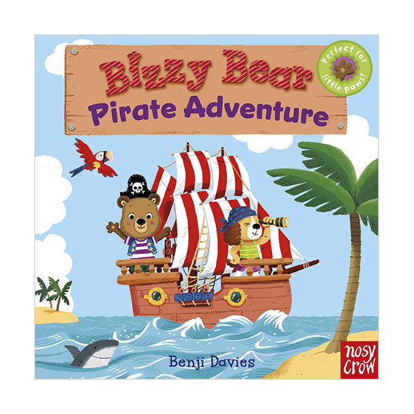 Bizzy Bear : Pirate Adventure (Board book)