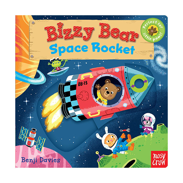 Bizzy Bear : Space Rocket (Board book)