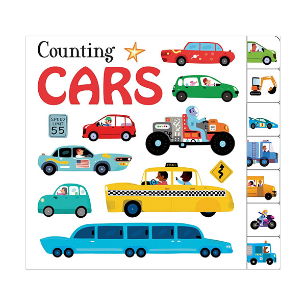Counting Collection : Counting Cars (Board book)