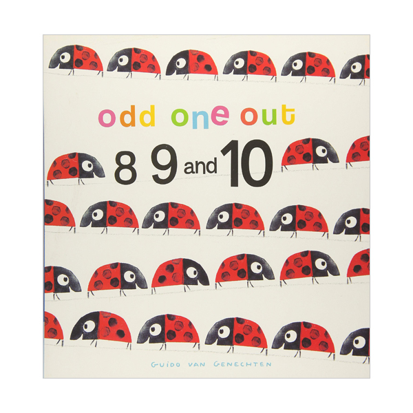 Odd One Out : 8 9 10 (Board Book)