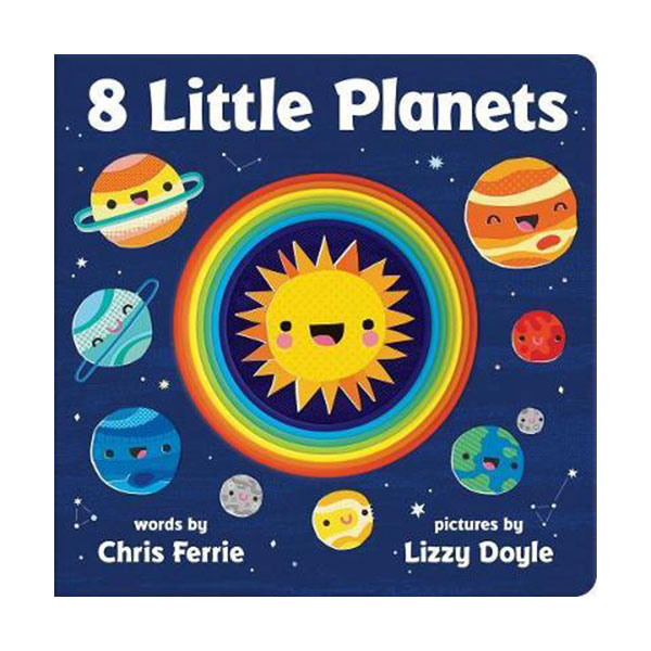8 Little Planets (Board book)