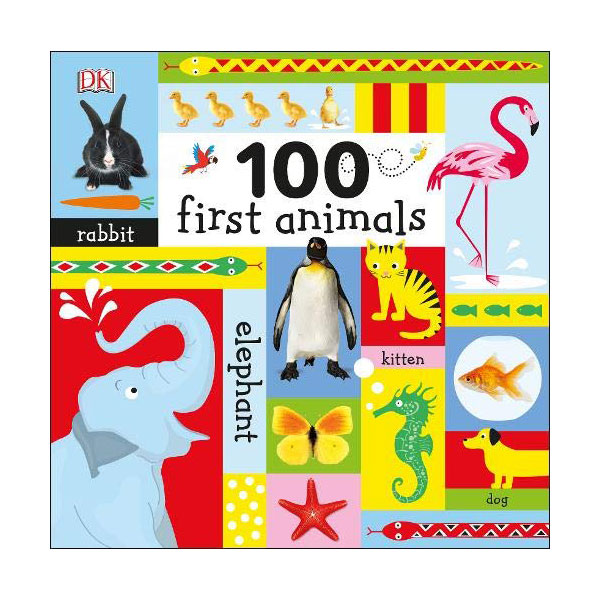 100 First Animals (Board book , 영국판)