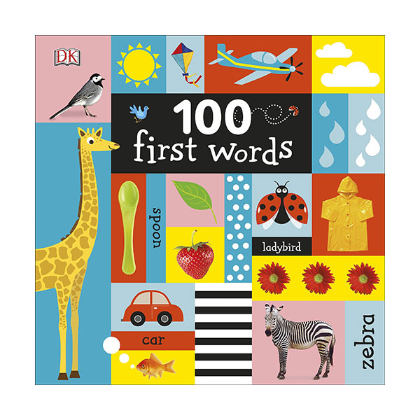 100 First Words (Board book, 영국판)