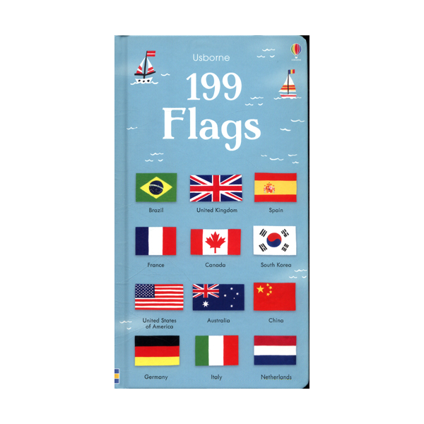 199 Flags (Board book, 영국판)