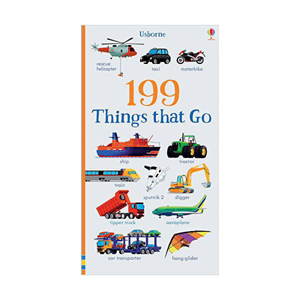 199 Things That Go (Board book, 영국판)