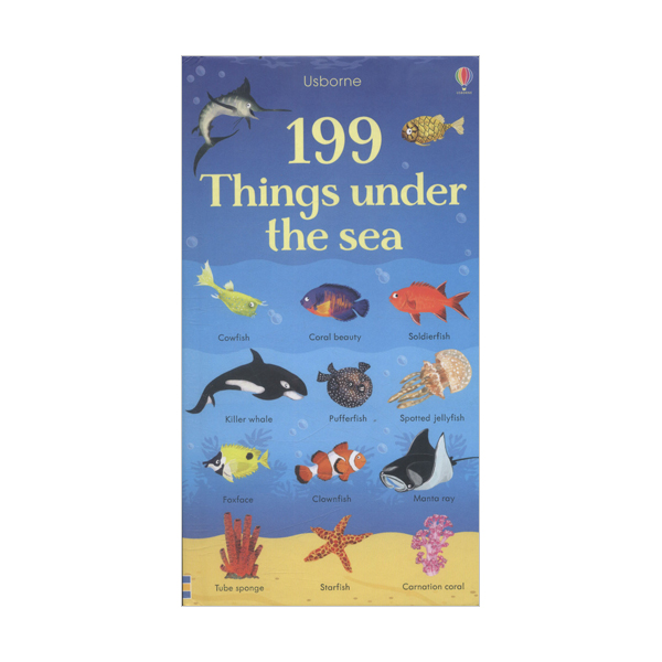 199 Things Under the Sea (Board book, 영국판)