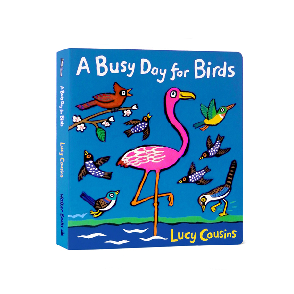 A Busy Day for Birds (Board Book, 영국판)