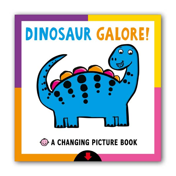 A Changing Picture Book : Dinosaur Galore! (Board book)