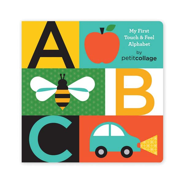 ABC My 1st Touch & Feel Alphabet (Board book)