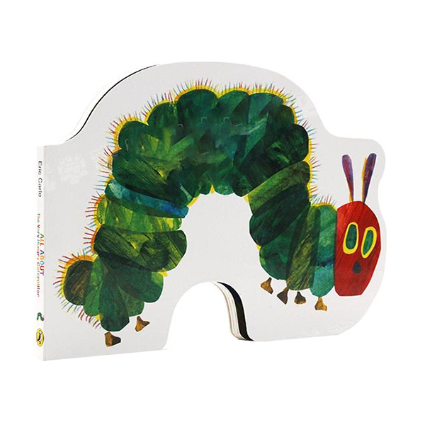 All About the Very Hungry Caterpillar (Board Book, 영국판)