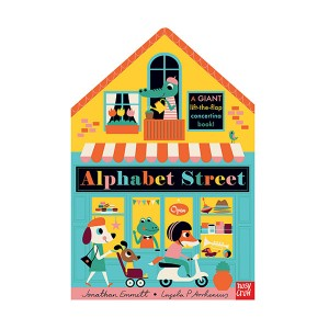 Alphabet Street (Board book, 영국판)